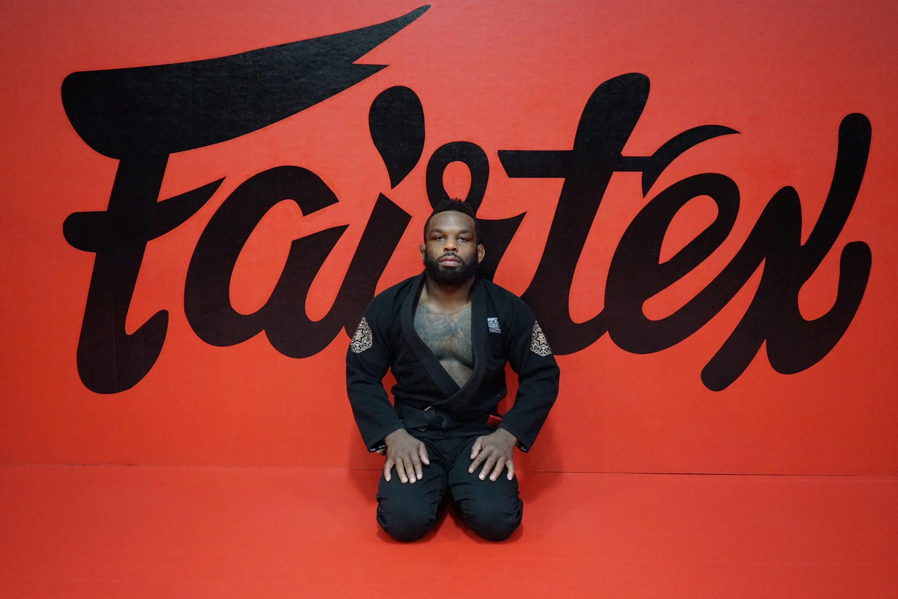 DJ Jackson teaching BJJ at Fairtex Training Center