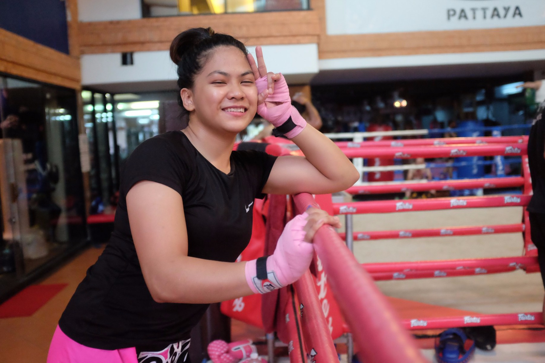 Denice Zamboanga Pro MMA Fighter