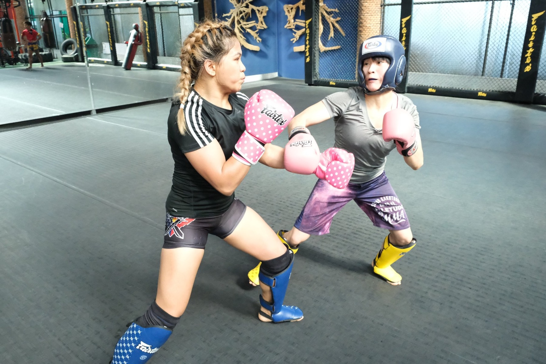 MMA Program at Fairtex with Denice Zamboanga and Jenny Huang