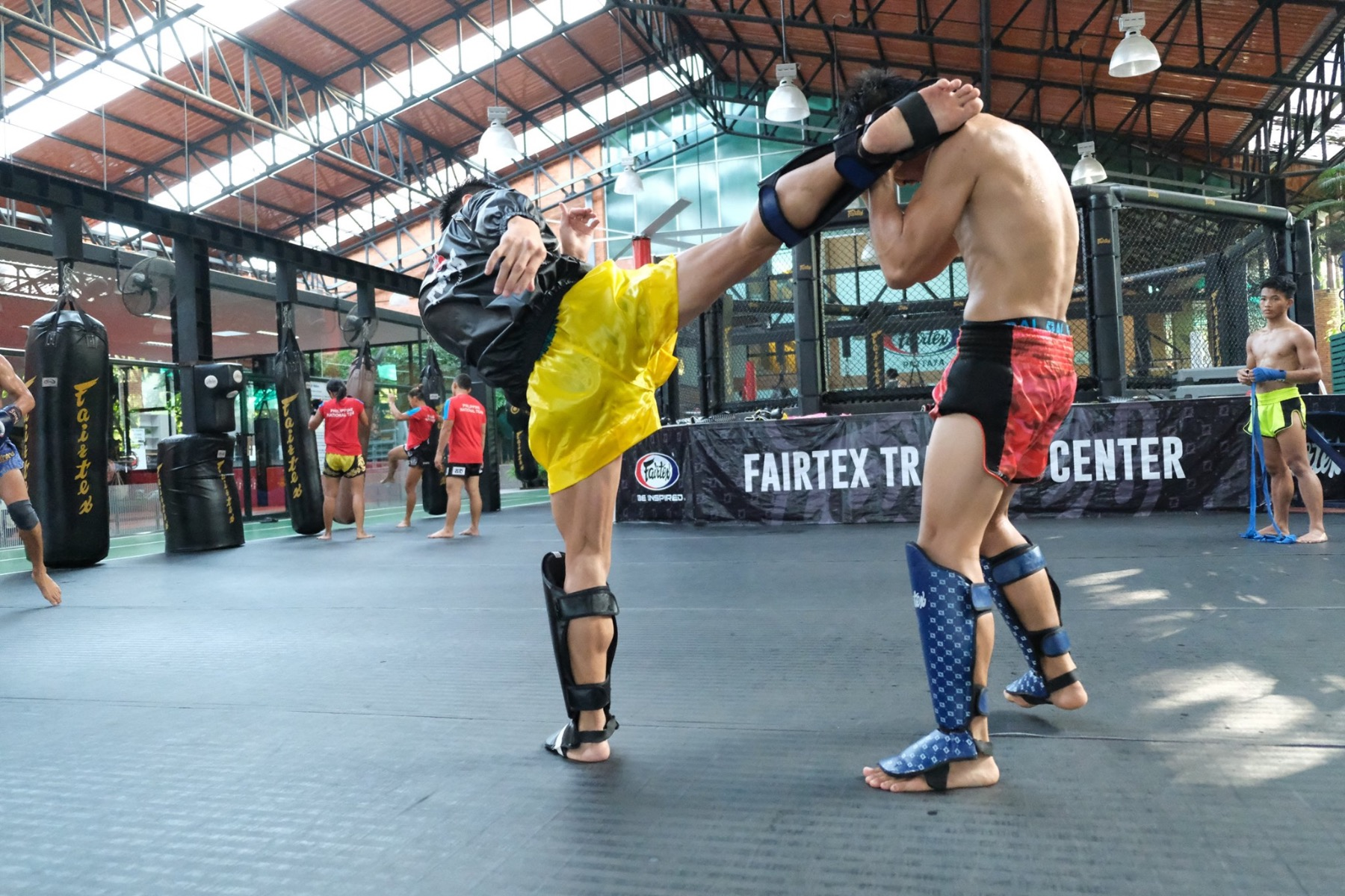 Philippines National Muay Thai team Sparring