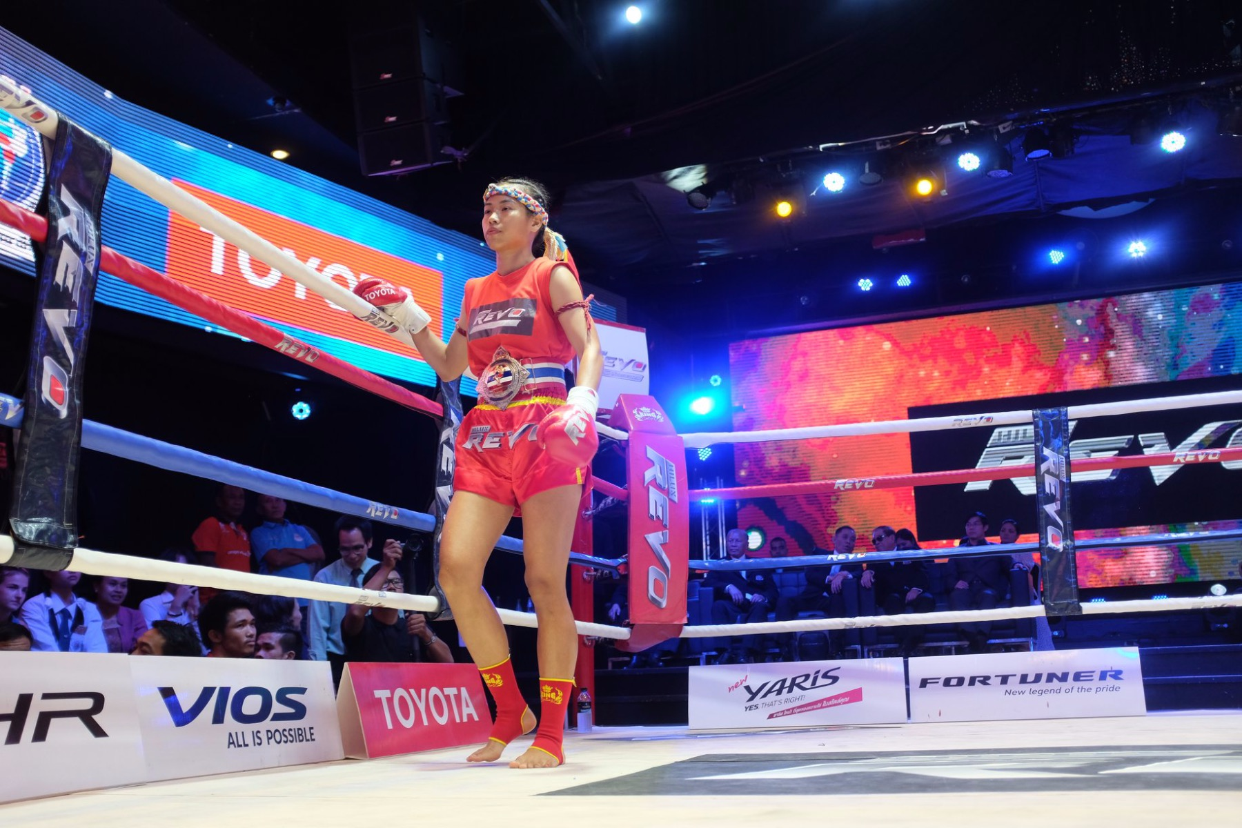 Wondergirl Fairtex defending her PAT belt in Bangkok